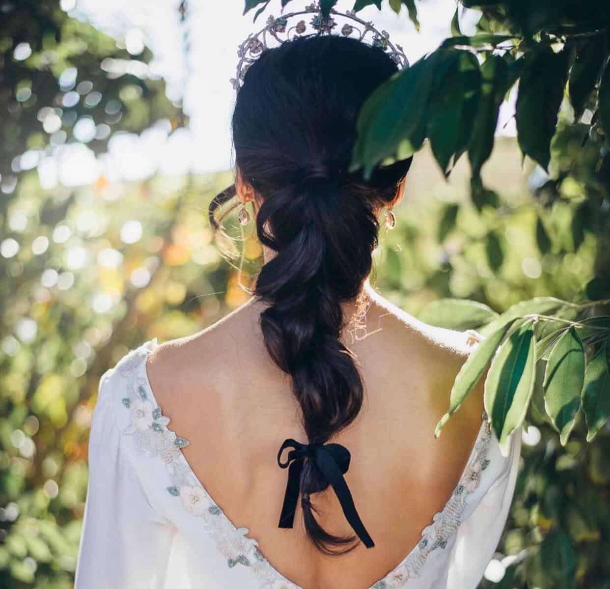 Trenzas para novias